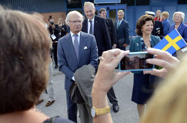 Kungaparet besöker Västernorrland bilder