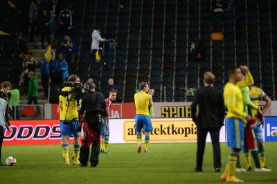 EM-kval fotboll Sverige-Liechtenstein bilder