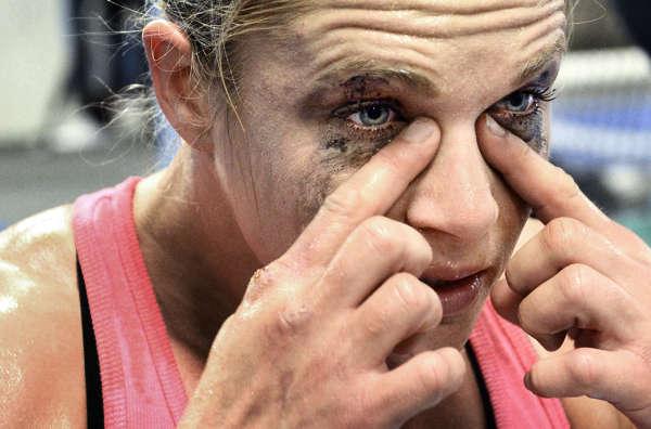 Frida W, proffsboxare bilder