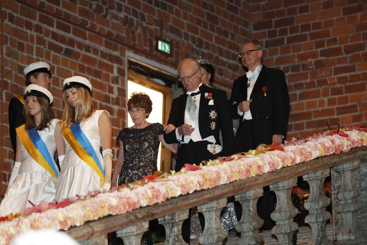 Нобелевский банкет в Швеции