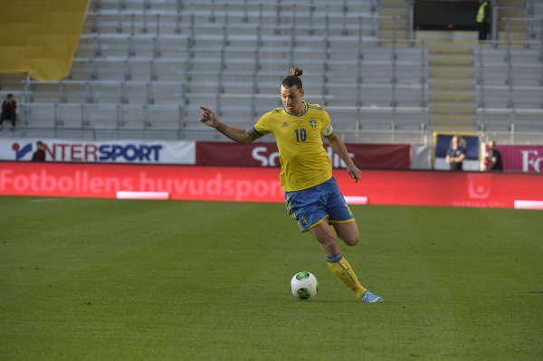 Sverige-Makedonien, träningslandskamp inför VM-kval bilder