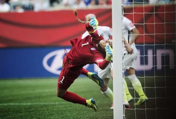 Fotbolls VM, USA - Australien bilder