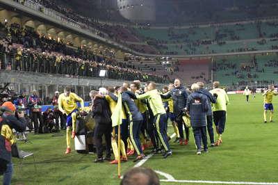 VM-KVAL: Italien-Sverige 13/11