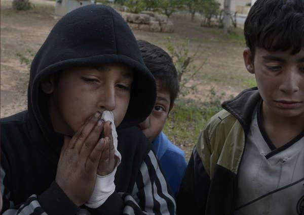 syriska flyktingbarn bilder