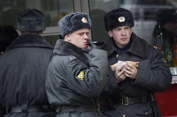 Putins gator - valvaka på ryskt vis. bilder