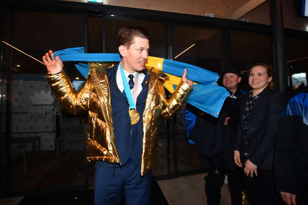 OS, medaljceremonin bilder