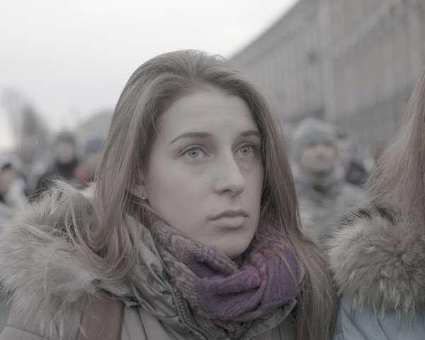 Demonstrationer i Kiev bilder
