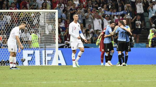 VM, Uruguay - Portugal bilder