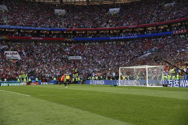 VM, Spanien - Ryssland  bilder