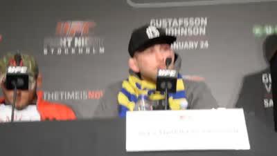 UFC lördag 24 jan bilder