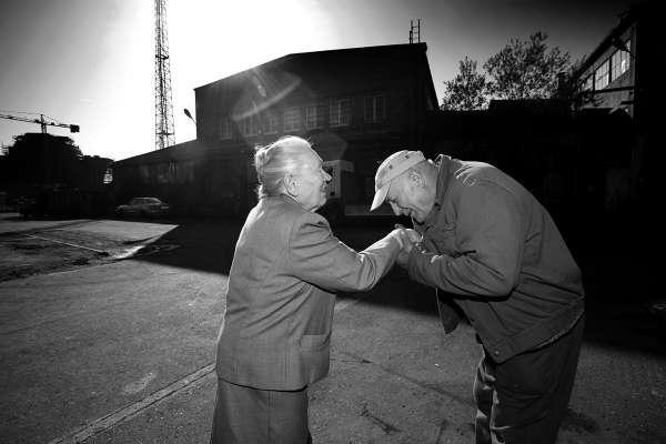 Anna, städerskan som startade strejken vid Leninvarvet i Gdansk 1980. bilder