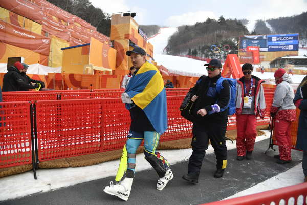 OS, slalom herrar bilder