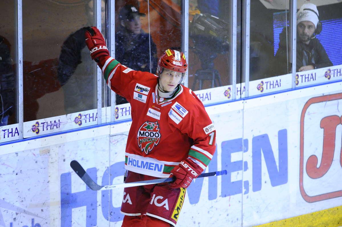 Simon Önerud har gjort mål i fyra raka matcher