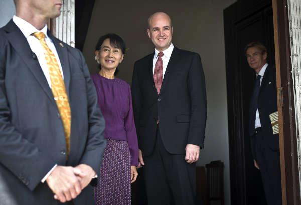 Fredrik Reinfeldt på statsbesök i Burma och Indonesien bilder