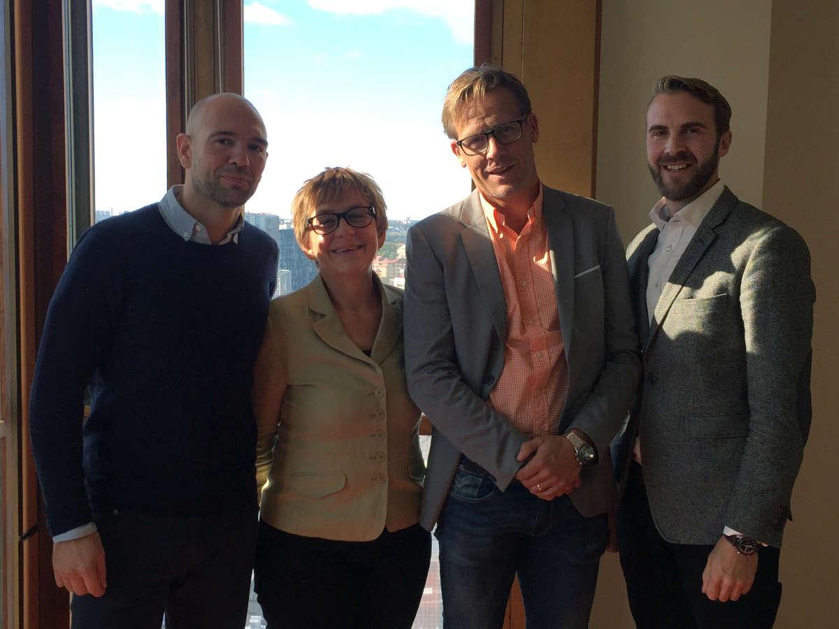 Martin Levy, Kerstin Pilhage, Jonas Eriksson, Eivind Vogel-Rödin