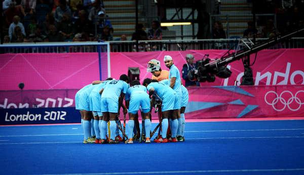 """""""bildspel"""" Indien Landhockey bilder"""